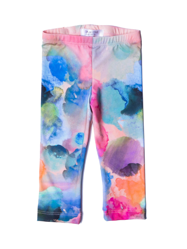 Windel Watercolor Leggings - Pip & Squeaks