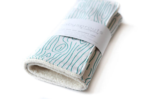 Farmhouse Bark Changing Pad