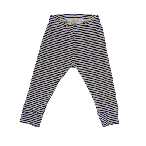 Jennifer Legging in Navy Stripe