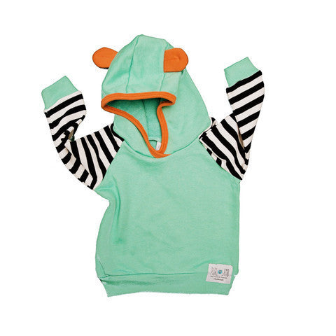 Dallas Hoodie in Mint Green