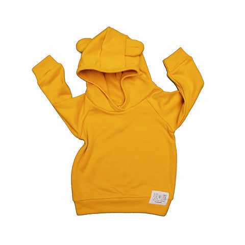 Previously Loved Dallas Hoodie in Mustard