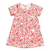 Margot Dress in Red and pink - Pip & Squeaks