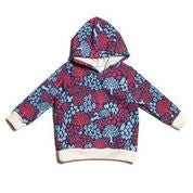 Out for a walk blue and red Hoodie - Pip & Squeaks