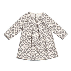 Animal Kingdom Dress in grey - Pip & Squeaks