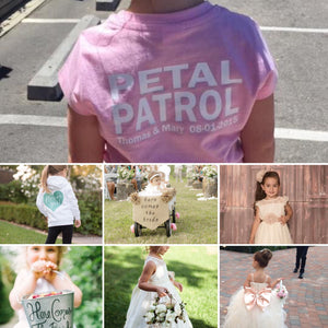 Who's on Petal Patrol at your Wedding?