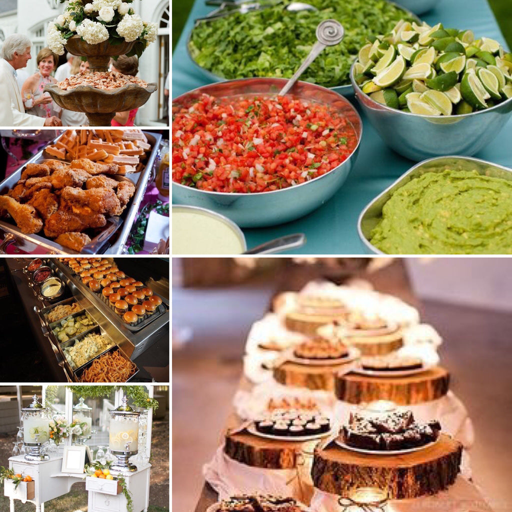 12 Wedding Reception Food Station Ideas