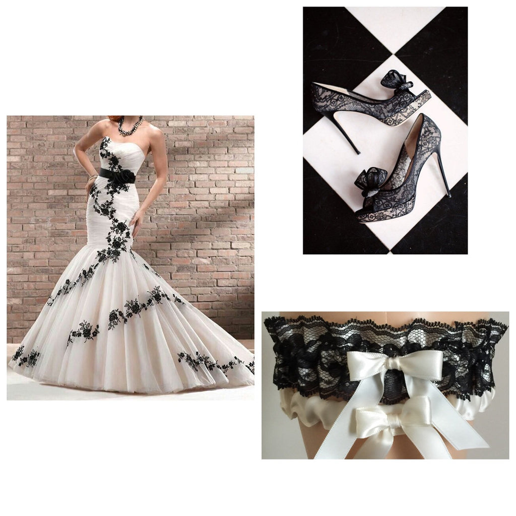 Bridal White and Black Inspiration...