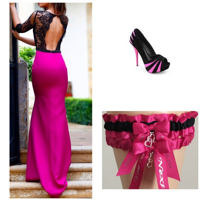 Fuchsia Pink and Black Inspiration