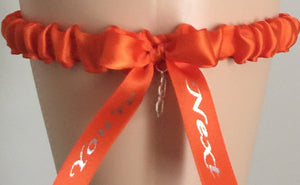 Orange You're Next Wedding Garter