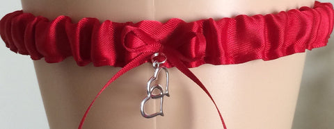 Red Tossing Wedding Garter, Prom Garters, Costume Garters, Bridal Garters Garter Set Weddings, Bridal Garter Set, Garter for Brides