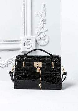 Small Shoulder Bag With Lock