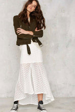 Load image into Gallery viewer, MINKPINK Sunshine Lover Crochet Midi Skirt