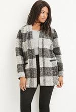 Load image into Gallery viewer, CURVY PLAID COAT