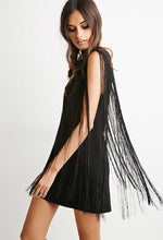 Load image into Gallery viewer, Fringe Shift Dress