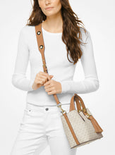 Load image into Gallery viewer, MICHAEL KORS Brooklyn Small Leather Satchel Bag