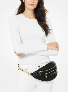 MICHAEL KORS Medium Pebbled Leather Belt Bag