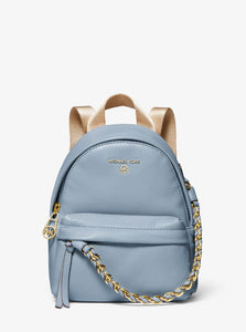 MICHAEL KORS Slater Extra-Small Pebbled Leather Convertible Backpack