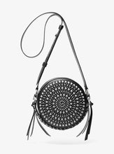 Load image into Gallery viewer, MICHAEL KORS Delancey Medium Leather Canteen Crossbody Bag
