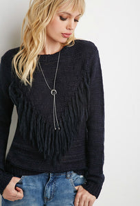 FRINGED SWEATERS