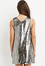 Load image into Gallery viewer, Sequin Shift Dress