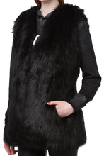 Load image into Gallery viewer, Long Fur Vest