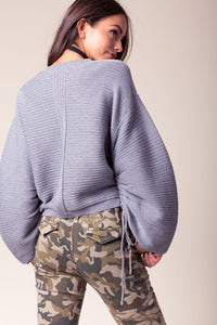 Balloon Flare Sleeve Sweater