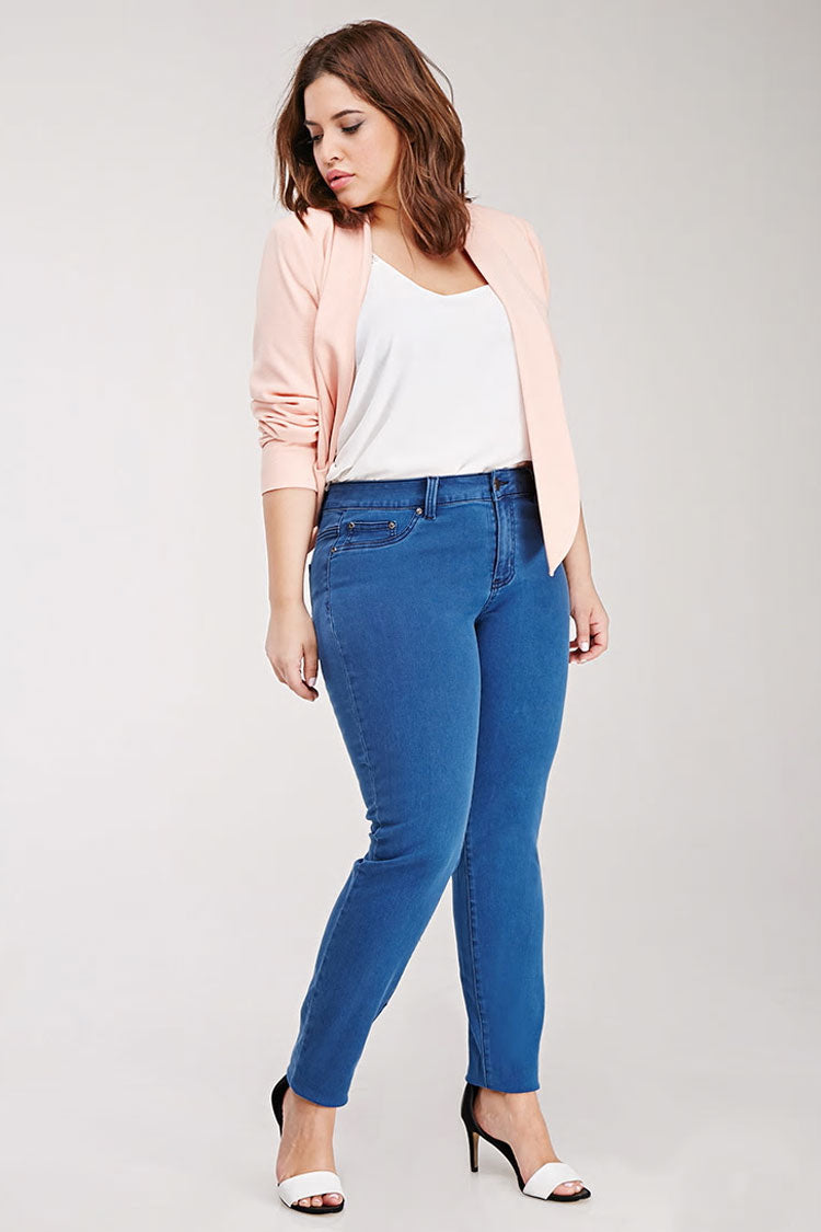 Curvy Low-Rise Skinny Jeans