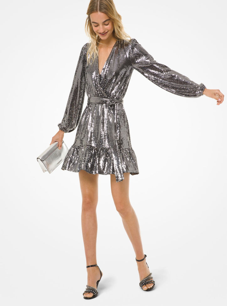 MICHAEL MICHAEL KORS Mirror Crossover Dress