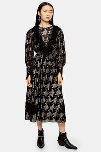 Top Shop Lace Midi Dress