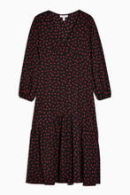 Load image into Gallery viewer, Top Shop PETITE  Button V-Neck Midi Dress