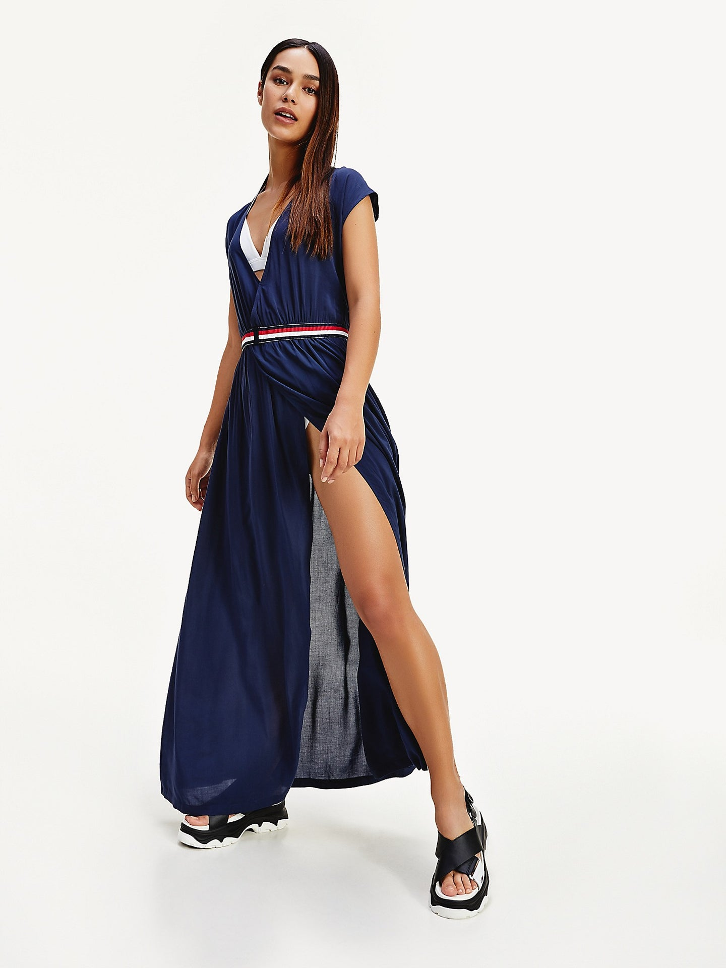 Tommy Hilfiger Wrap Dress Cover Up