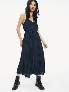 Tommy Hilfiger Pleated Slip Dress