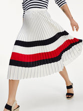 Load image into Gallery viewer, Tommy Hilfiger Icon Pleated Chiffon Skirt