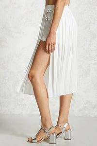 Pleated Skort Skirt