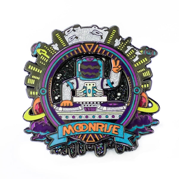 Moonrise Astronaut Spinner Pin