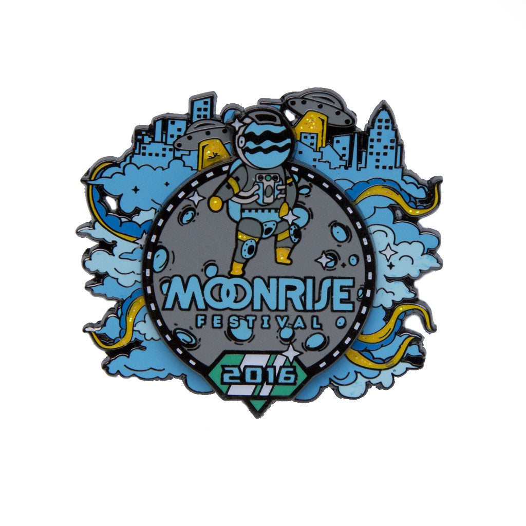 Official Moonrise Festival 2016 Pin