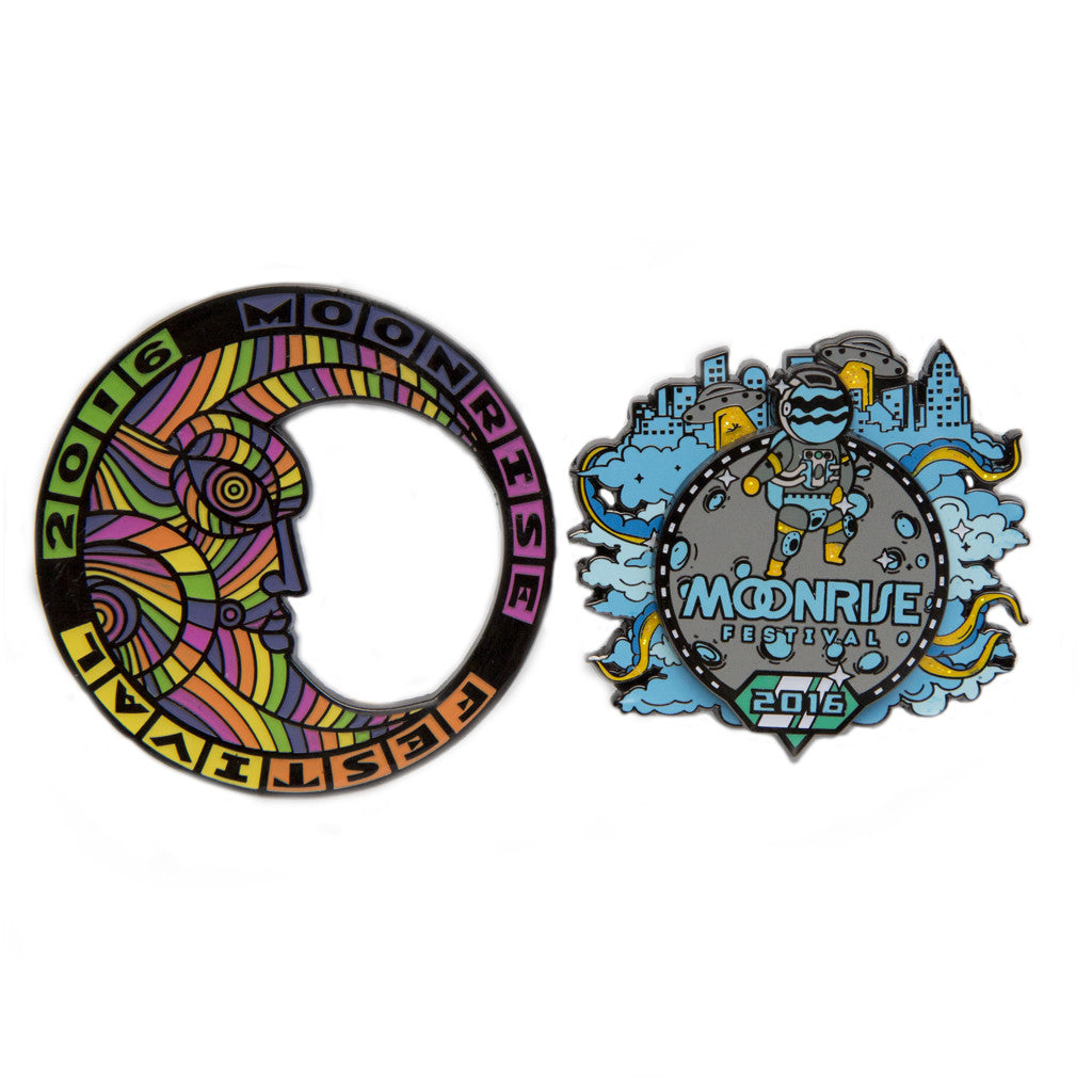Moonrise 2016 Pin 2 Pack