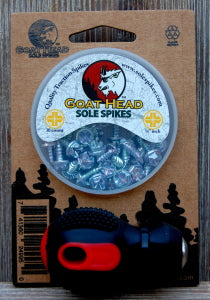 Goat Head Sole Spikes Combo Pack