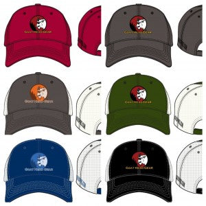 Goat Head Gear Logo Hats