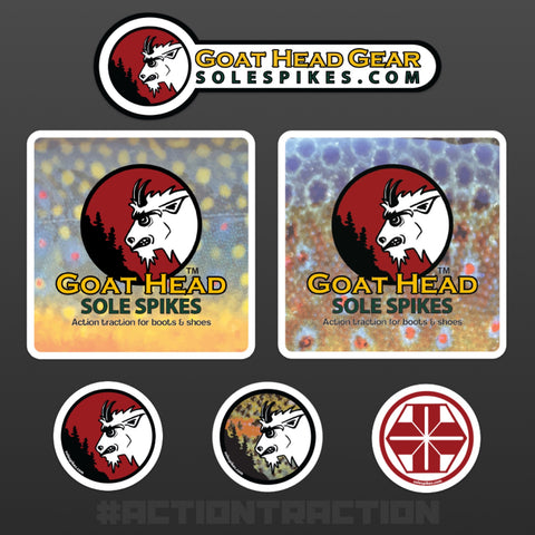 Goat Head Gear Sticker Bundle