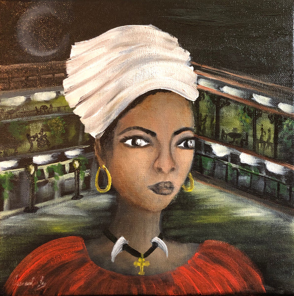 Marie LaVeau Surveys Her City