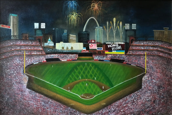 Busch Stadium Night Game