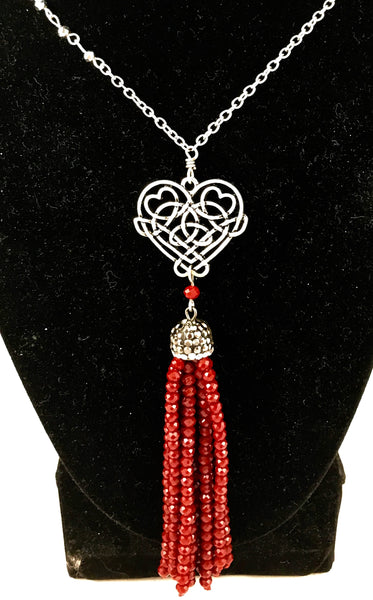 Eternal Love (Necklace & Earring Set)
