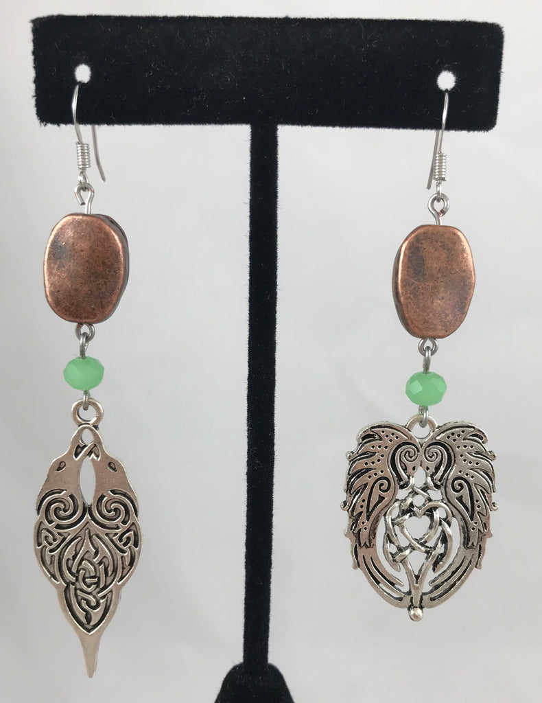 Celtic Bird Earrings