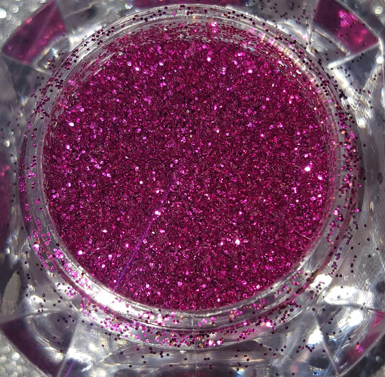 Crushed Diamonds - Magenta Jewels