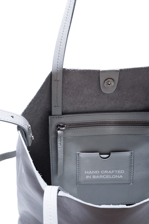 Grey Mini Tote