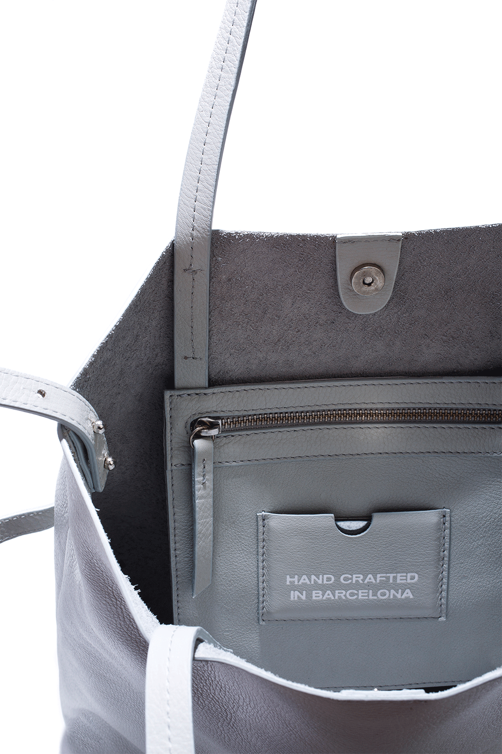 Grey Roomy Tote