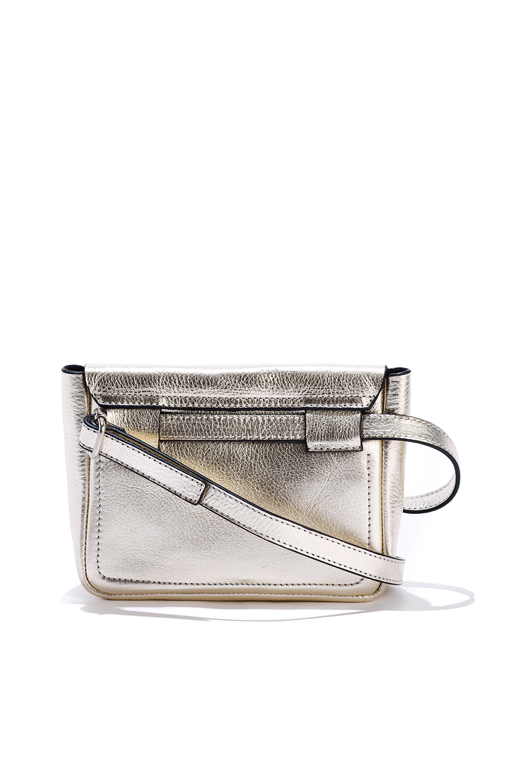 Metallic Belt Bag