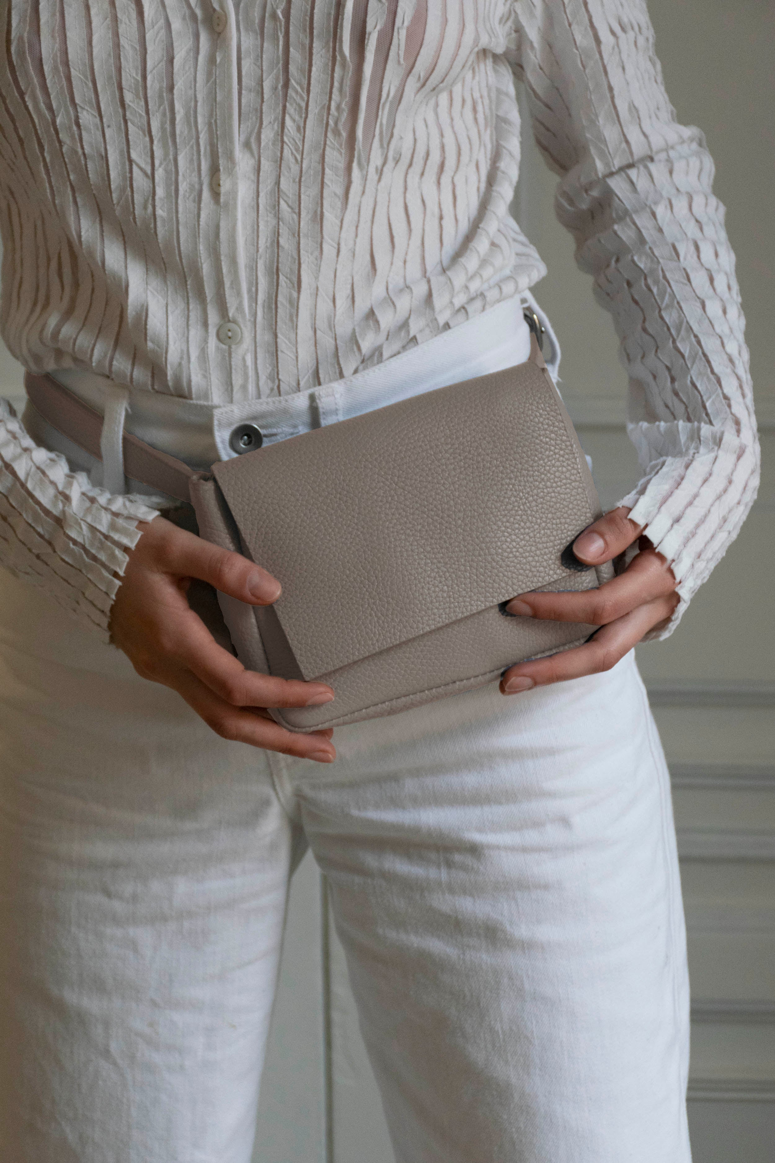 Taupe Belt Bag