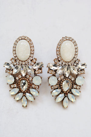 AMELLE CLEAR EARRINGS